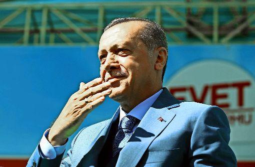 Erdogans steile Karriere