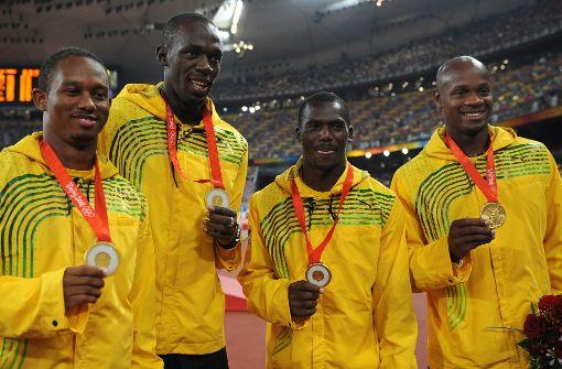 Sprintstar gibt Staffel-Gold zurück