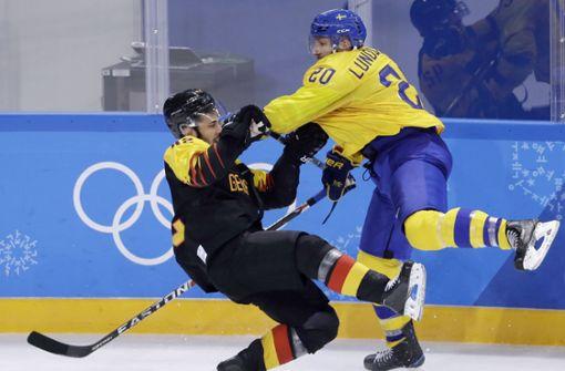 Deutsches Eishockey-Team unterliegt Schweden knapp