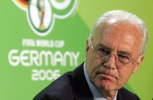 Beckenbauer ist nicht bereit zu zahlen