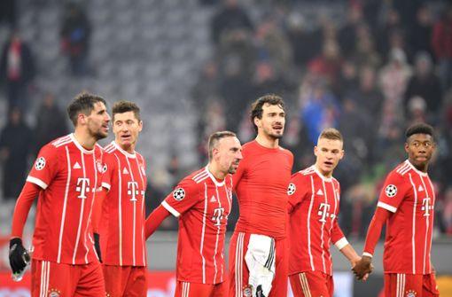 Bayern München klar auf Viertelfinal-Kurs