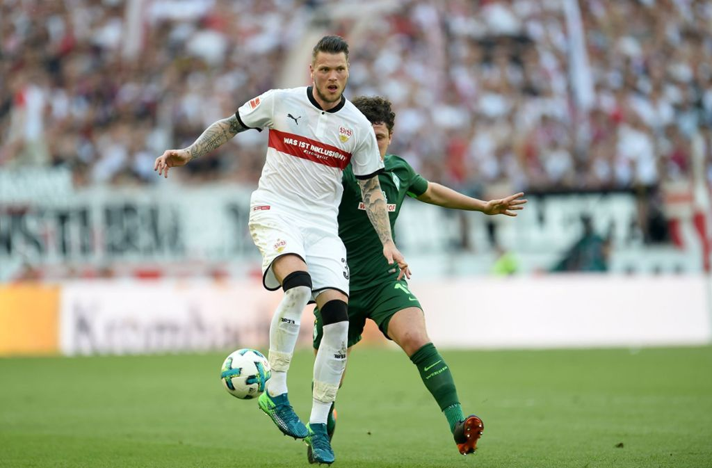 "Christian Gentner ist der ""Man of the Match"" des Spiels VfB ..."