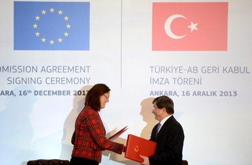 Türkei: Visa-Anträge sollen erleichtert werden Foto: dpa