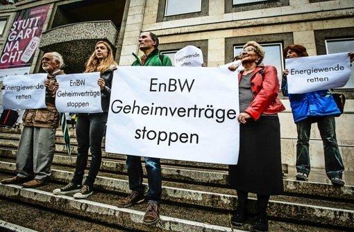 """Protest gegen """"Geheimverträge"""""""