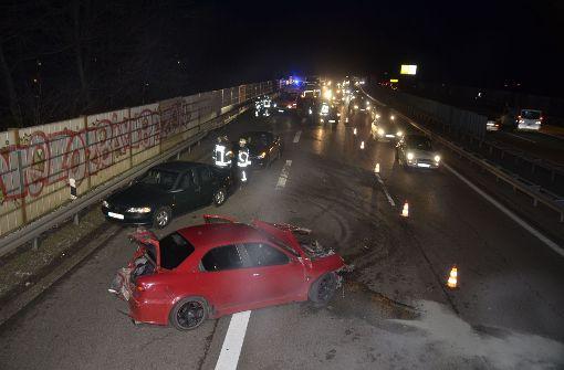 Unfall auf B10 sorgt für Teilsperrung