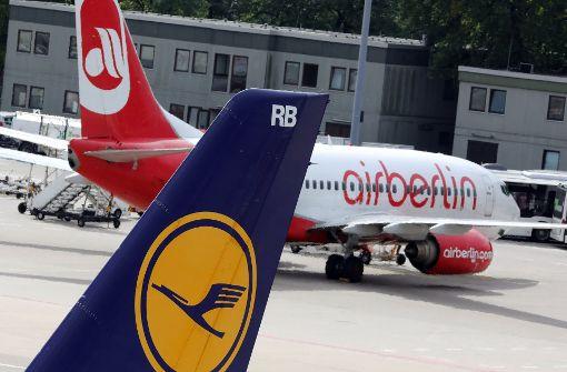 Air Berlin könnte zu großem Teil an Lufthansa gehen
