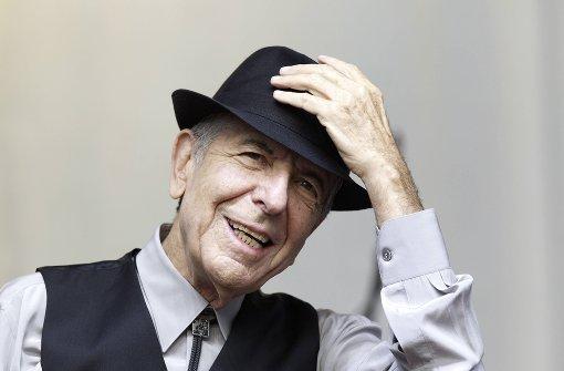 Immer noch mit melancholischer Grummelstimme: Leonard Cohen Foto: AFP