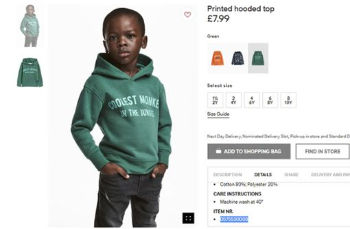 Nicht schmeichelhaft für H&M