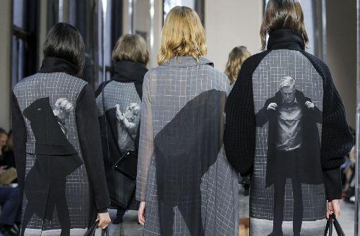 Designer setzten auf Oversize und Sportswear