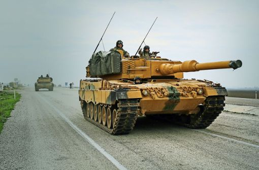 Nordsyrien: Deutsche Waffen gegen deutsche Panzer?