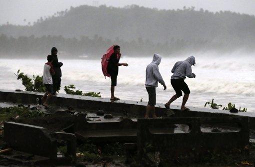 Erste Ausläufer treffen Philippinen