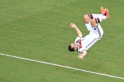 Miro Klose setzt zum Triple-Salto an