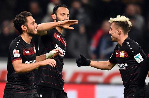 Bayer startet Aufholjagd mit Sieg gegen Hertha