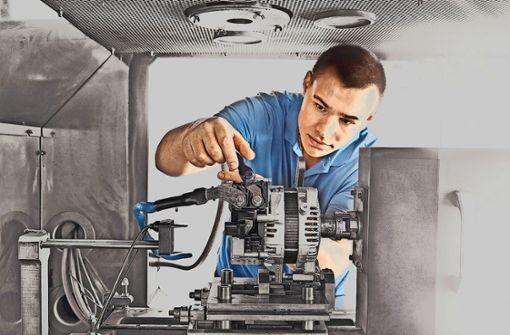 So  ordentlich sieht es  im Innern   eines Generators  von SEG Automotive aus. Foto: SEG