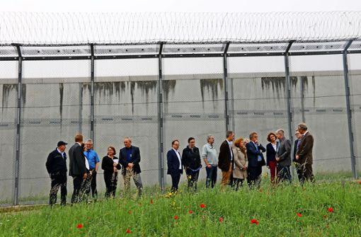 Besuch hinter Gittern