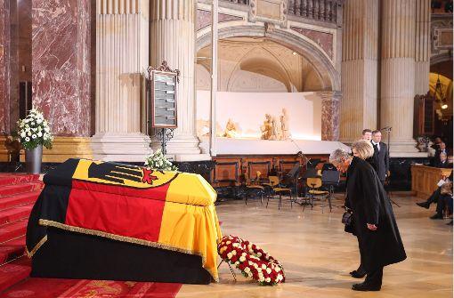 Bewegender Abschied von Roman Herzog