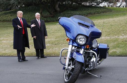 Harley Davidson will vor US-Zöllen fliehen – Präsident Trump sauer