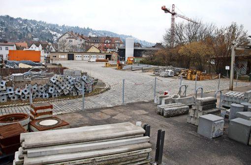 Das Gelände des Tiefbauamtes an der Gingener Straße soll neuer Standort für den AWS-Betriebshof werden. Foto: Mathias Kuhn