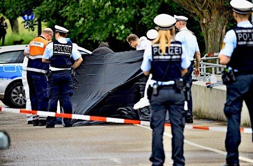 Polizeibeamte haben in Bernhausen einen bewaffneten Mann erschossen. Foto: 7aktuell.de/Eyb