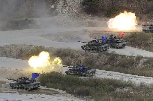 USA und Südkorea starten Militärmanöver