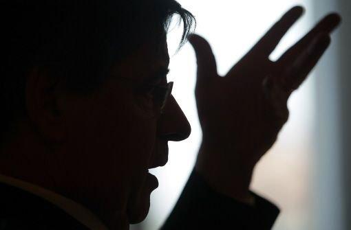 Der Finanzminister ist angezählt