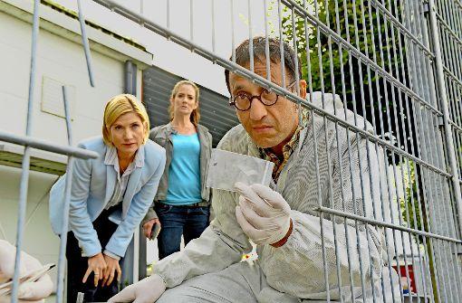 """Auch beim Outfit bleibt sich die """"Soko"""" treu – hier Foto: StZ, ZDF"""