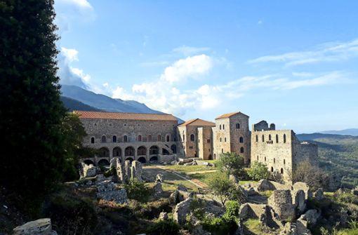 Sprechende Steine auf dem Peloponnes