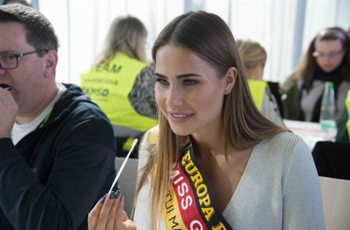 Auch Miss Germany Anahita Rehbein  kämpft um Larissas Leben
