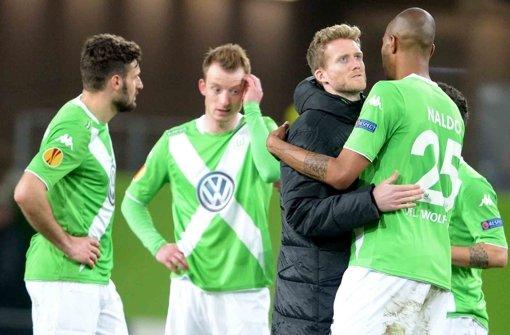 Wolfsburg vor Europa-League-Aus