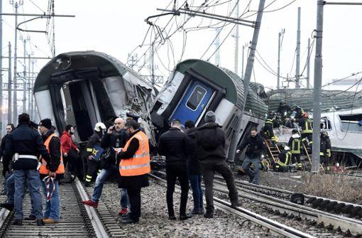 Vier Tote nach Zugunglück