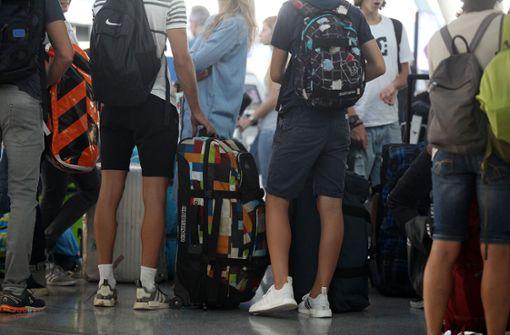 So viele Passagiere wie noch nie – im Juli 2018 stellte der Flughafen Stuttgart einen Passagierrekord auf. Foto: Lichgut/Reich