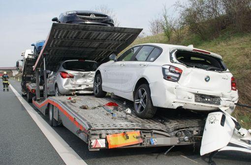 Stauende übersehen – 110 000 Euro Schaden