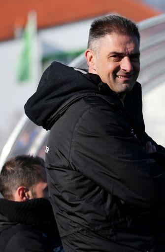 Cheftrainer der U19. Foto:  Baumann