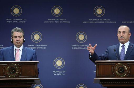 Gabriel kassiert Abfuhr in Ankara