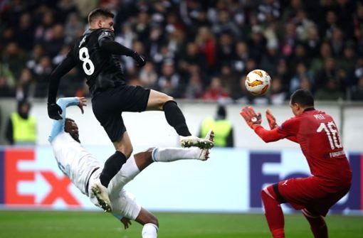 Eintracht Frankfurt holt sich Gruppensieg