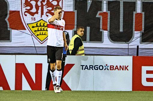 Der VfB müht sich in die nächste Runde