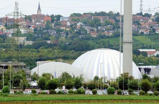 Das Kernkraftwerk Neckarwestheim, das von der EnBW betrieben wird. Foto: dpa