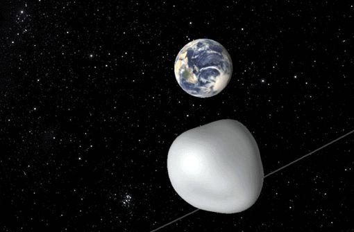 Asteroid fliegt knapp an der Erde vorbei