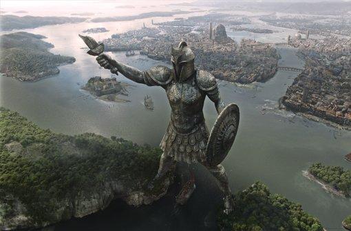 """Am Berliner Platz erschaffen: Ansicht der Stadt Braavos in """"Game of Thrones"""" Foto: Mackevision"""