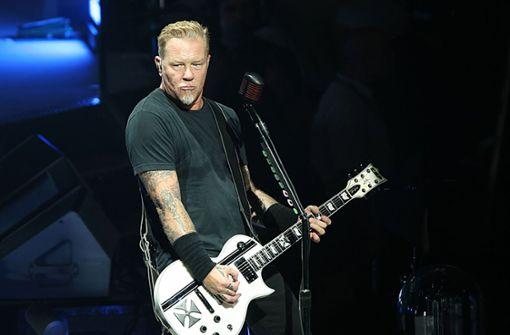 Leider schon ausverkauft: die beiden Abende mit Metallica in der Schleyerhalle Foto: dpa
