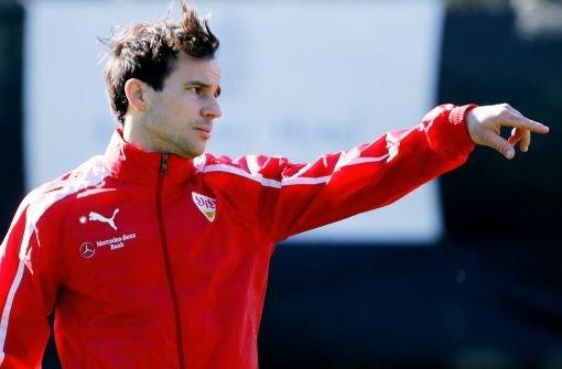 Der VfB Stuttgart setzt weiter auf die Dienste von Mittelfeldspieler Tamas Hajnal. Der Vertrag wurde bis 2014 verlängert und beinhaltet zudem eine Option für eine weitere Spielzeit. Foto: Pressefoto Baumann