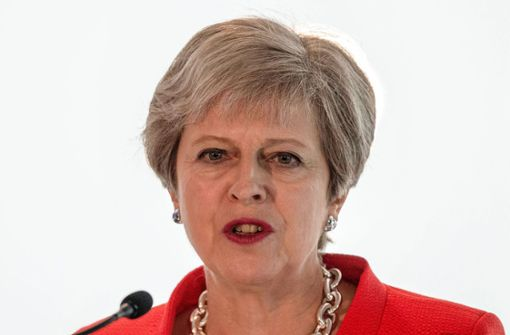 Zunehmend unter Druck: die britische Premierministerin Theresa May Foto: POOL