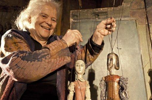Helga Brehme gab ihre erste Vorstellung mit Jorinde und Joringel. Foto: Steffen Honzera