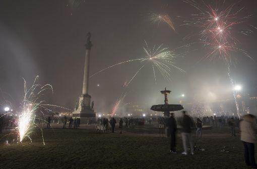 Vor einem Jahr waren an Silvester nicht nur friedliche Zeitgenossen in der Stadt. Foto: 7aktuell.de/Oskar Eyb