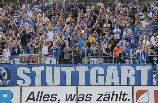 Verdienter Sieg der Stuttgarter Kickers
