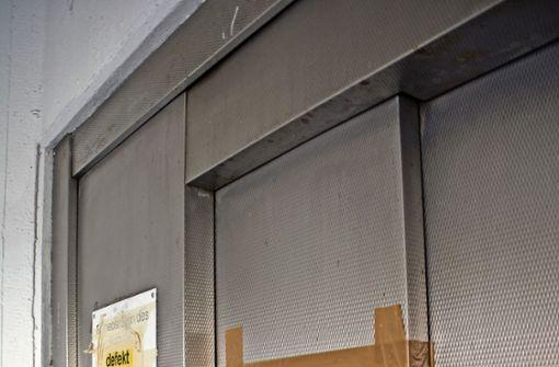 Fahrstuhl in den Bürgersaal soll zuverlässig werden