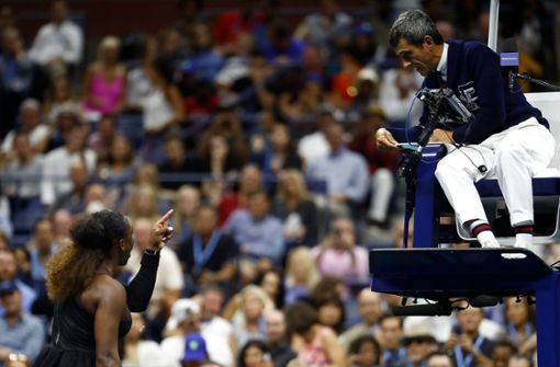 Das sagt der Schiedsrichter zum US-Open-Skandal um Serena Williams