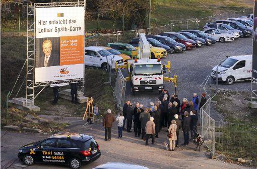 Anerkennung für Lothar Späth