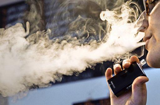 E-Zigaretten bleiben  von der Steuer  verschont