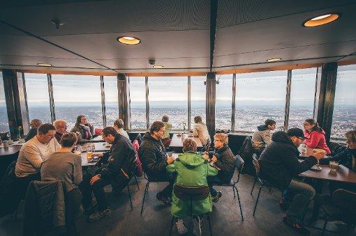 Panorama Cafe Fernsehturm Stuttgart